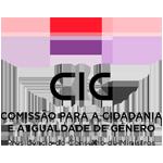 APPDI logotipo cig comissao cidadania igualidade genero