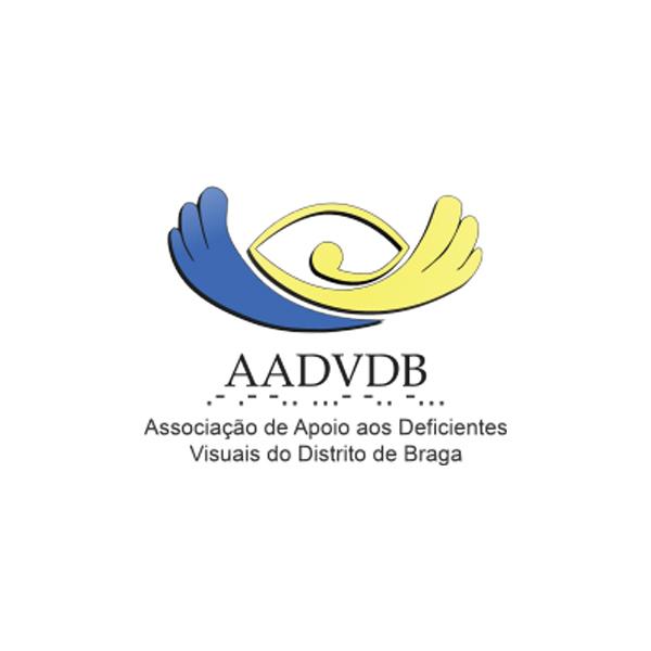 Logótipo Associação de Apoio aos Deficientes Visuais do Distrito de Braga  Entidades Signatárias logotipo AADVDB