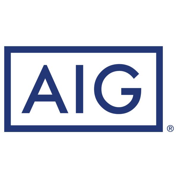 Logótipo AIG American International Group  Entidades Signatárias logotipo aig american international group