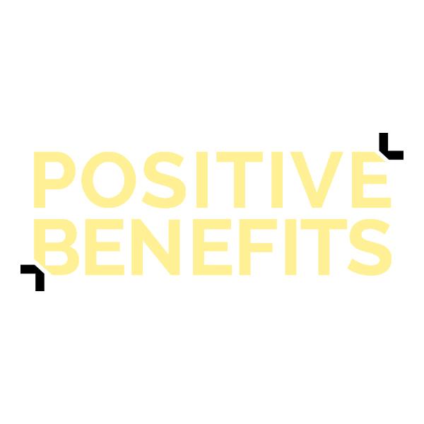 Logótipo Positive Benefits  Entidades Signatárias logotipo positive benefits