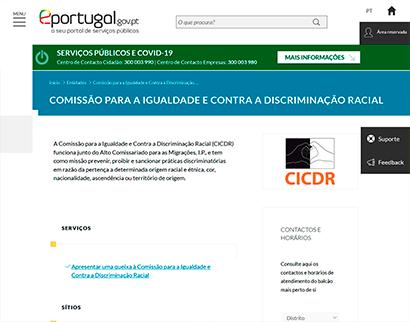comissão para a igualdade e contra a discriminação racial Comissão para a Igualdade e contra a discriminação Racial Comissao para a Igualdade e contra a discriminacao Racial 1