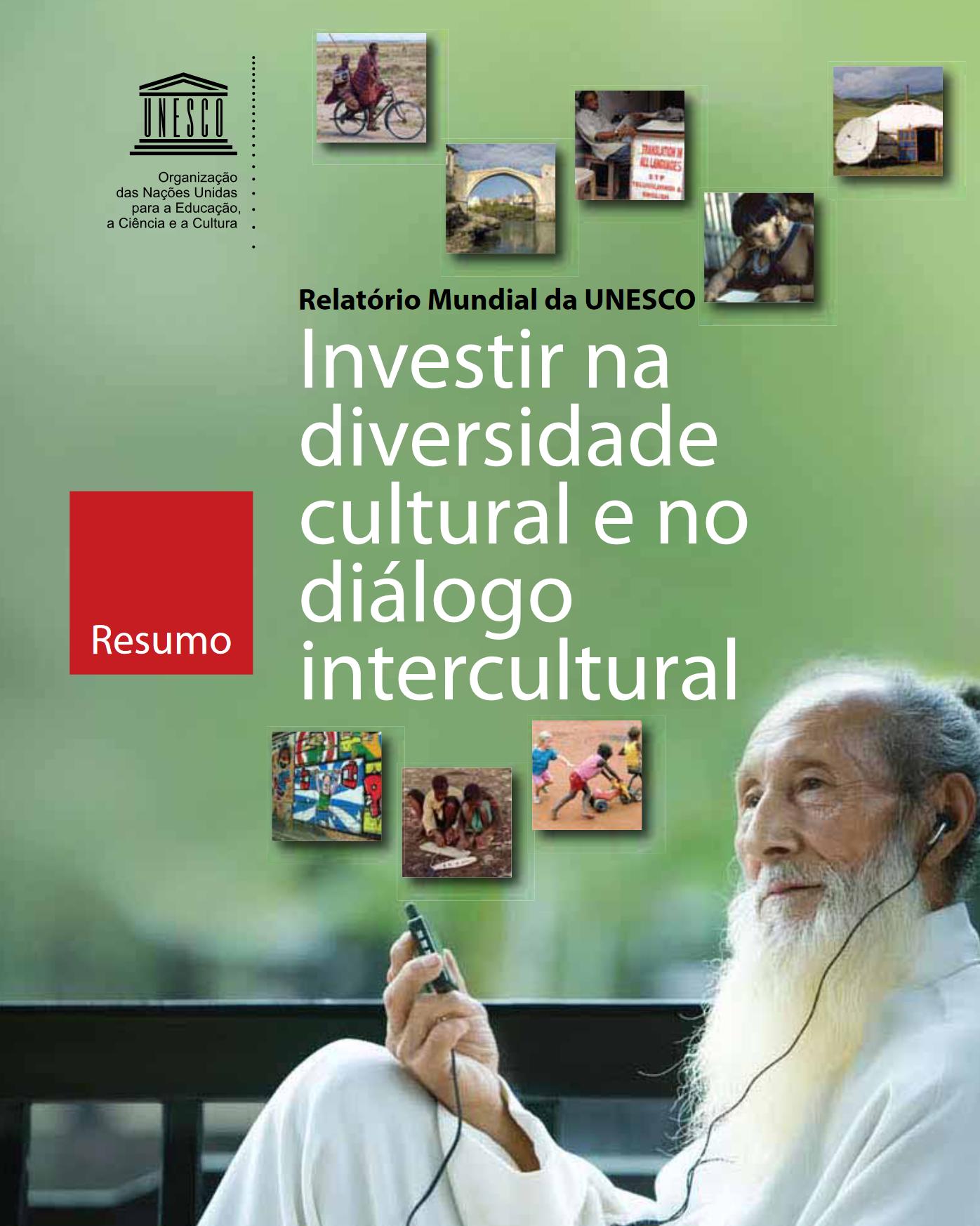 investir na diversidade cultural e no diálogo intercultural Investir na diversidade cultural e no diálogo intercultural Investir na diversidade cultural e no dialogo intercultural capa