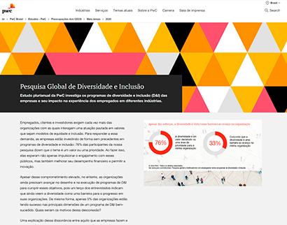 pesquisa global de diversidade e inclusão (estudo pwc) Pesquisa Global de Diversidade e Inclusão (Estudo PwC) Pesquisa Global de Diversidade e Inclusao Estudo PwC 1  Plataforma do Conhecimento – teste Pesquisa Global de Diversidade e Inclusao Estudo PwC 1