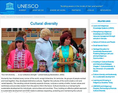 unesco -  cultural diversity UNESCO –  Cultural diversity UNESCO Cultural diversity  Plataforma do Conhecimento – teste UNESCO Cultural diversity