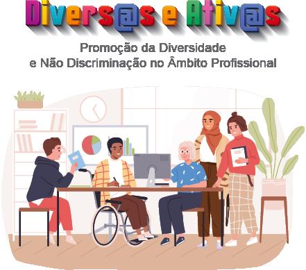 APPDI – Associação Portuguesa para a Diversidade e Inclusão diversas ativas banner vertical